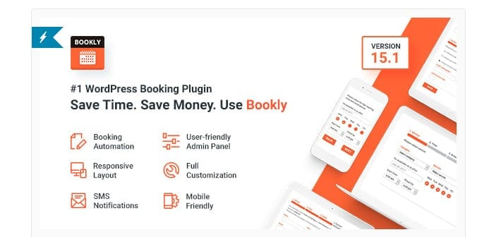 Bookly – Appointment Booking and Scheduling Software System by Ladela