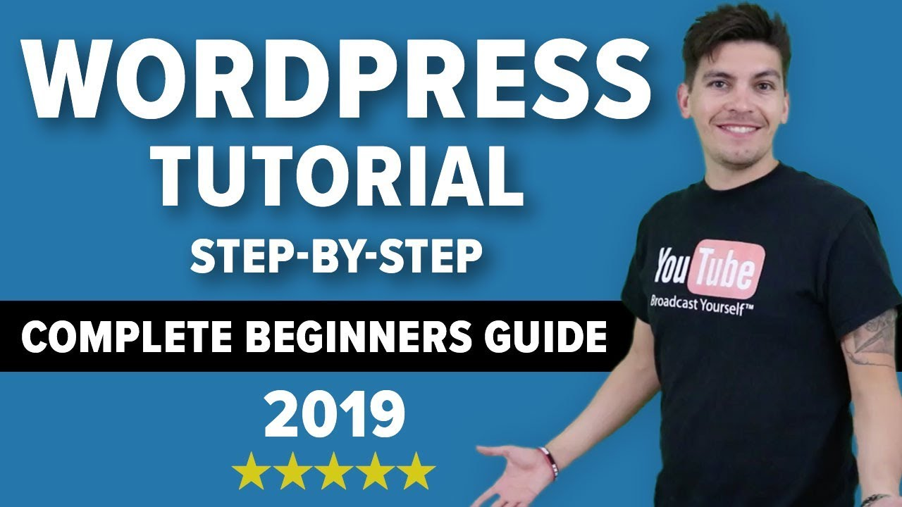 How To Make A WordPress Website 2019