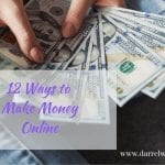 VIDEO: 12 Ways to Make Money Online