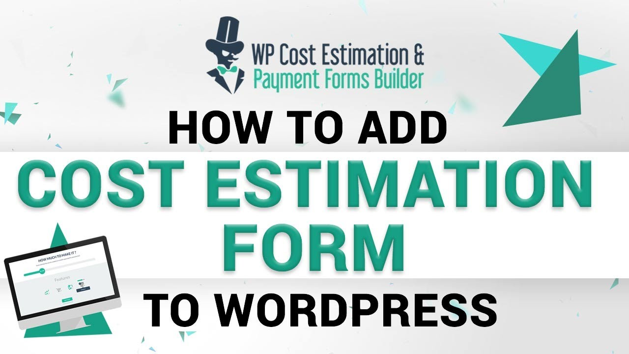 Cost Estimation Form