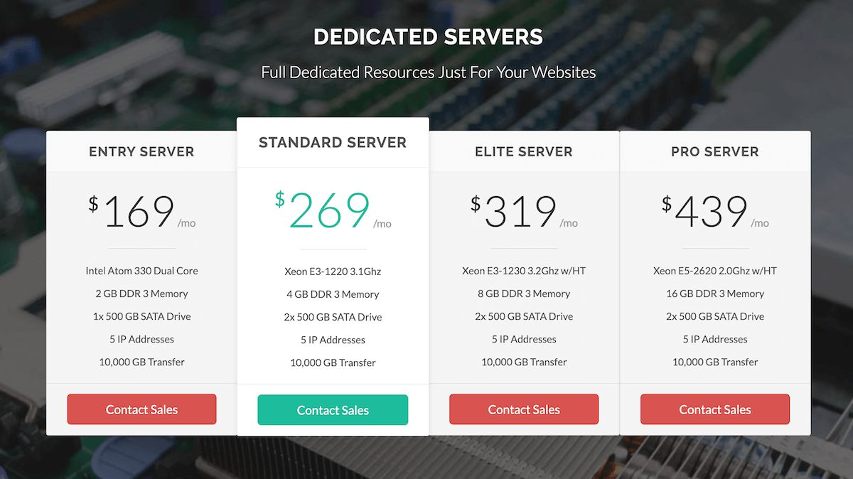 Dedicated Hosting GreenGeeks